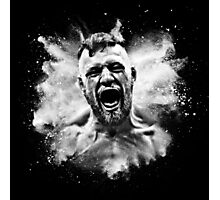 Conor McGregor Explosive Photographic Print