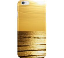 Sunset over the English Channel iPhone Case/Skin