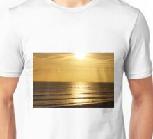 Sunset over the English Channel Unisex T-Shirt