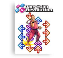 Dan Dan Revolution! Canvas Print