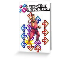 Dan Dan Revolution! Greeting Card