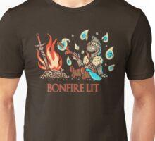 Cute Bonfire Lit  Unisex T-Shirt