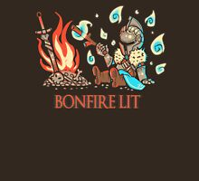 Cute Bonfire Lit  Unisex T-Shirt