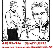 Kirk And Kirk And Salad by little-smartass