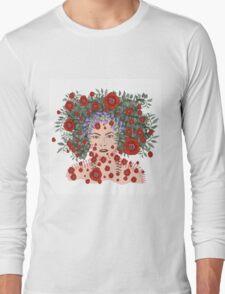 Spring Time Fantasy. floral soul. Long Sleeve T-Shirt