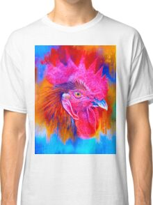 Bluish Rooster Classic T-Shirt
