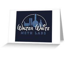 Walter White Meth Labs Greeting Card