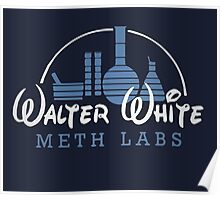 Walter White Meth Labs Poster