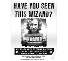 Wanted - Sirus Black Poster