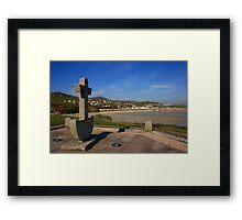 Downies Beach Framed Print