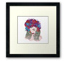 Spring Time Fantasy. floral soul Framed Print