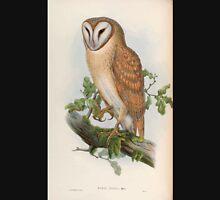 Birds of Asia John Gould 1883 V1 V7 017 Strix Indica Unisex T-Shirt