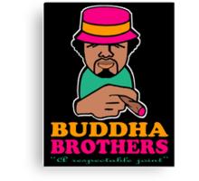 BUDDHA BROTHERS (DESIGN DO$) Canvas Print