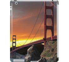 Golden Gate Bridge Sunset iPad Case/Skin