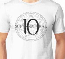 Supernatural 10 Devil's Trap KoS Unisex T-Shirt