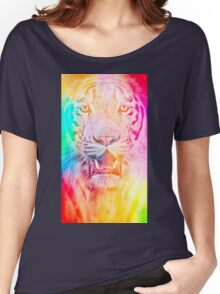 Tiger red Women's Relaxed Fit T-Shirt