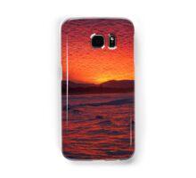 Byron Bay Sunset2 10Jun16 Samsung Galaxy Case/Skin
