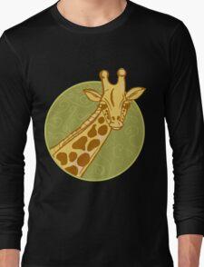 hand drawn giraffe Long Sleeve T-Shirt