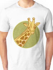 hand drawn giraffe Unisex T-Shirt