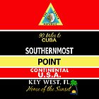 Southernmost Point Buoy Key West by BailoutIsland
