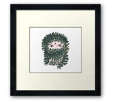 Spring Time Fantasy. floral soul. Framed Print