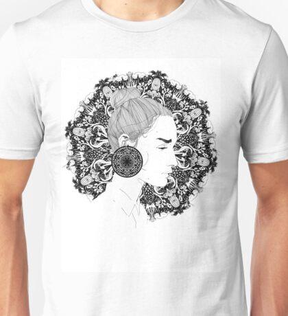 Eva - Fineliner Illustration Unisex T-Shirt