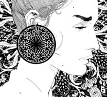 Eva - Fineliner Illustration Sticker