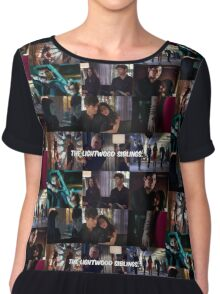 The Lightwood Siblings  Chiffon Top