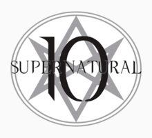 Supernatural 10 MoL One Piece - Short Sleeve