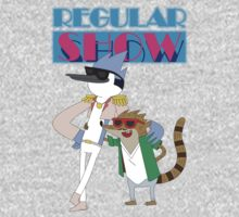 Mordecai & Rigby Miami Vice Kids Clothes