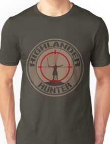 Highlander Hunter (Tan version) Unisex T-Shirt