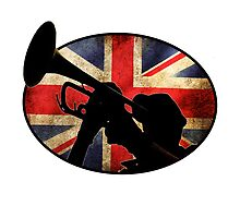 Barmy Billy Trumpeter by appfoto