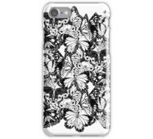 Flutter - Fineliner Illustration iPhone Case/Skin