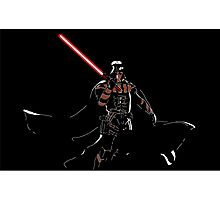 Darth Deathstroke Photographic Print