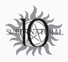 Supernatural 10 Protection Baby Tee