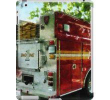 Back Of Fire Truck iPad Case/Skin