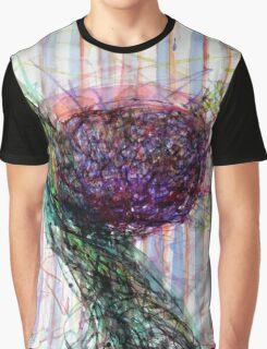 Splashy Fruit Graphic T-Shirt