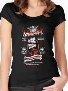 Crowley's Deals Agency Women's Fitted Scoop T-Shirt