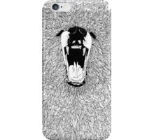Grizzly - Fineliner Illustration iPhone Case/Skin