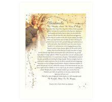 desiderata poem=angelic Art Print