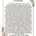 desiderata poem, florentine  by Desiderata4u