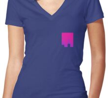 Pink Box Women's Fitted V-Neck T-Shirt