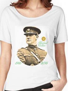 Michael Collins 1916-2016 Women's Relaxed Fit T-Shirt
