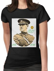 Michael Collins 1916-2016 Womens Fitted T-Shirt