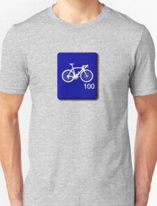 Bike Scrabble Tile (Blue) T-Shirt