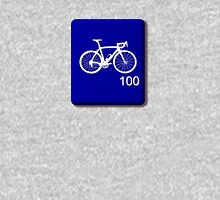 Bike Scrabble Tile (Blue) Unisex T-Shirt
