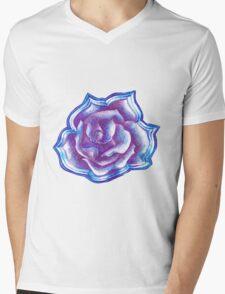 Purple Rose  Mens V-Neck T-Shirt