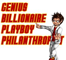 Genius, Billionaire, Playboy Philanthropist by UrbanReaper