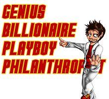 Genius, Billionaire, Playboy Philanthropist by UrbanReaper