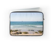 Sand beach in Portugal Laptop Sleeve